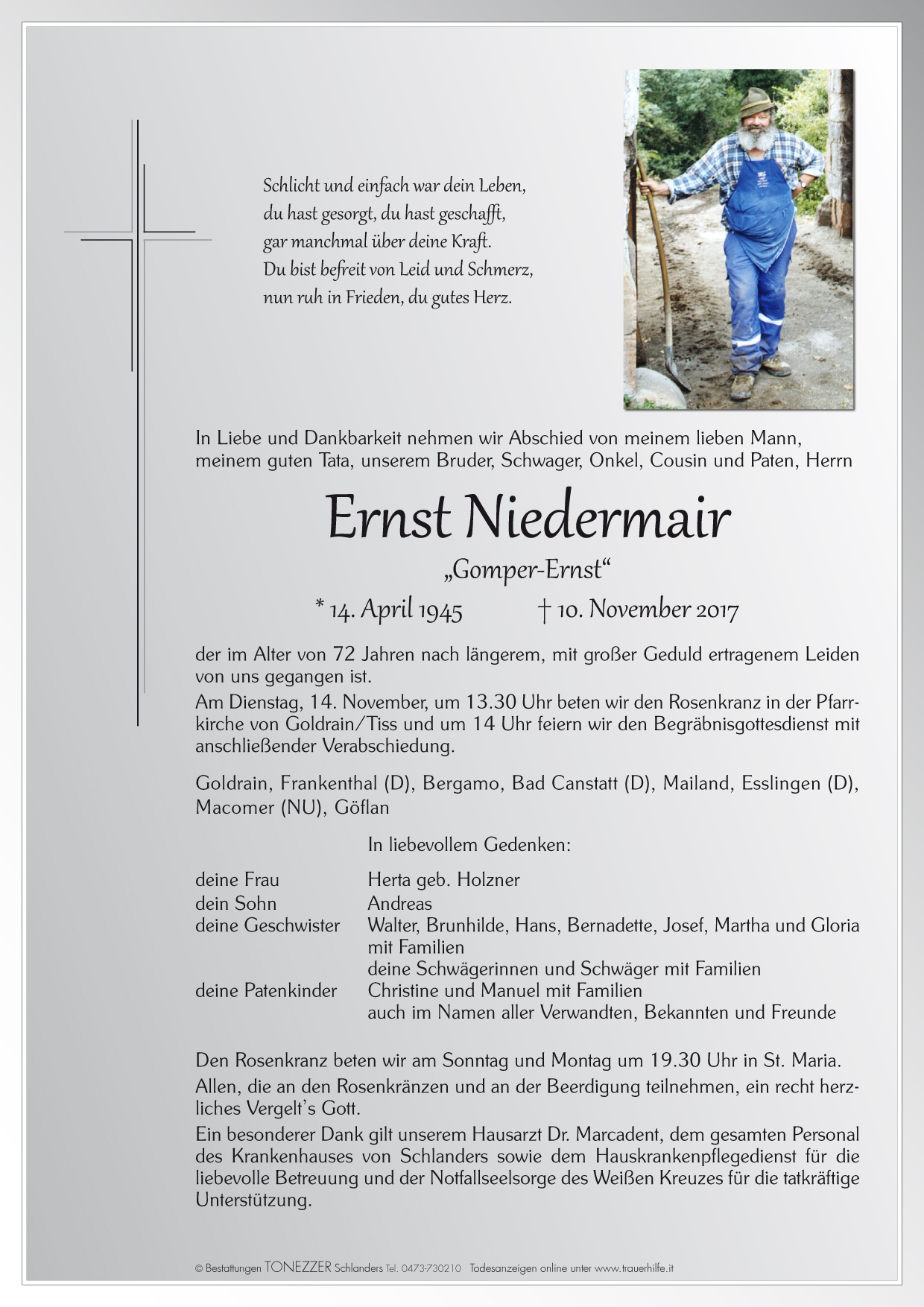 Ernst Niedermair
