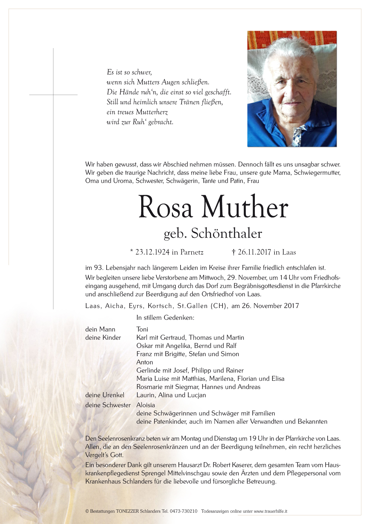Rosa Muther