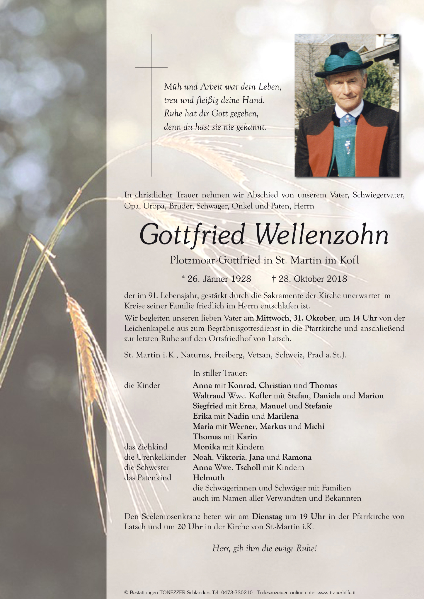 Gottfried Wellenzohn