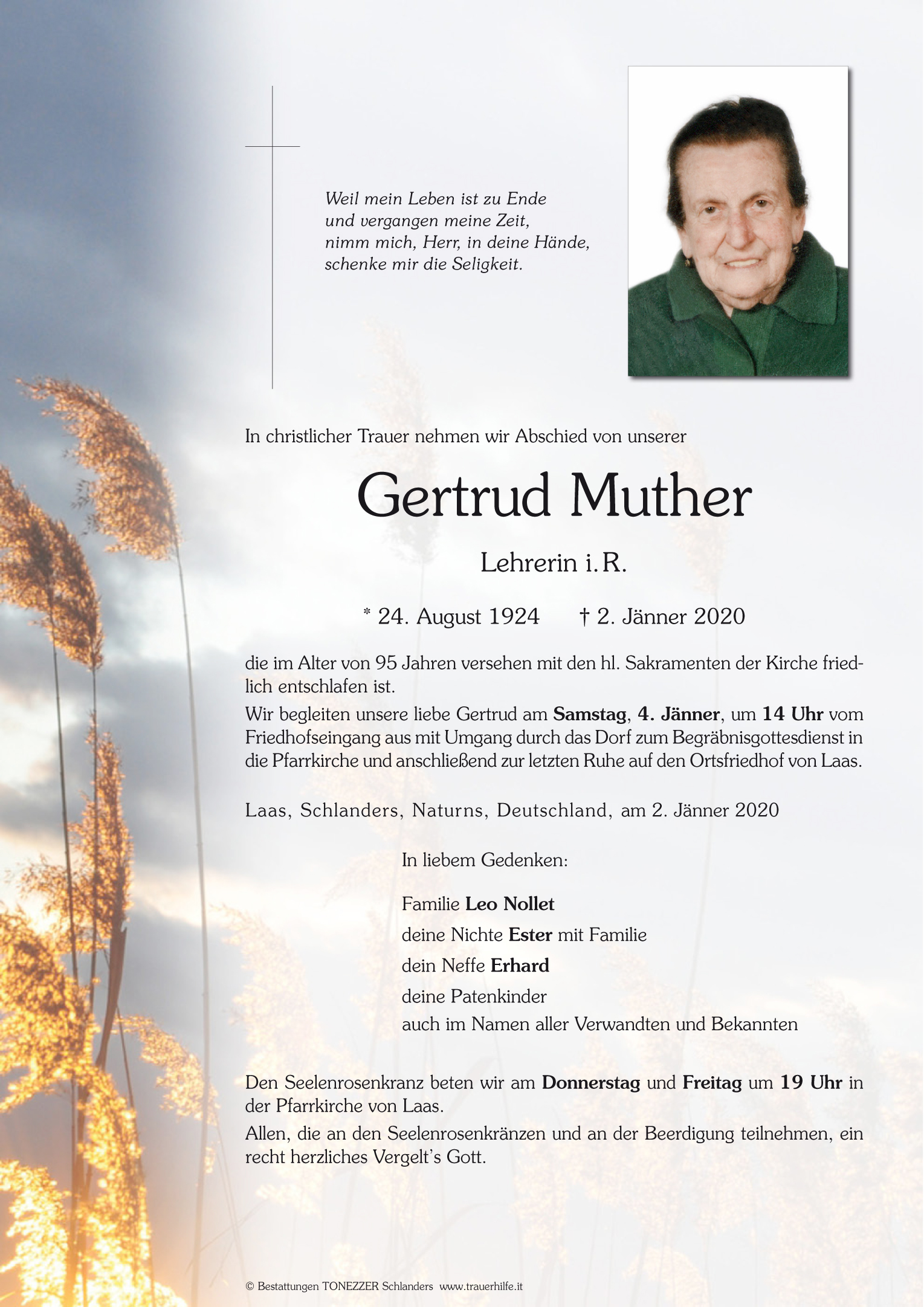 Gertrud Muther
